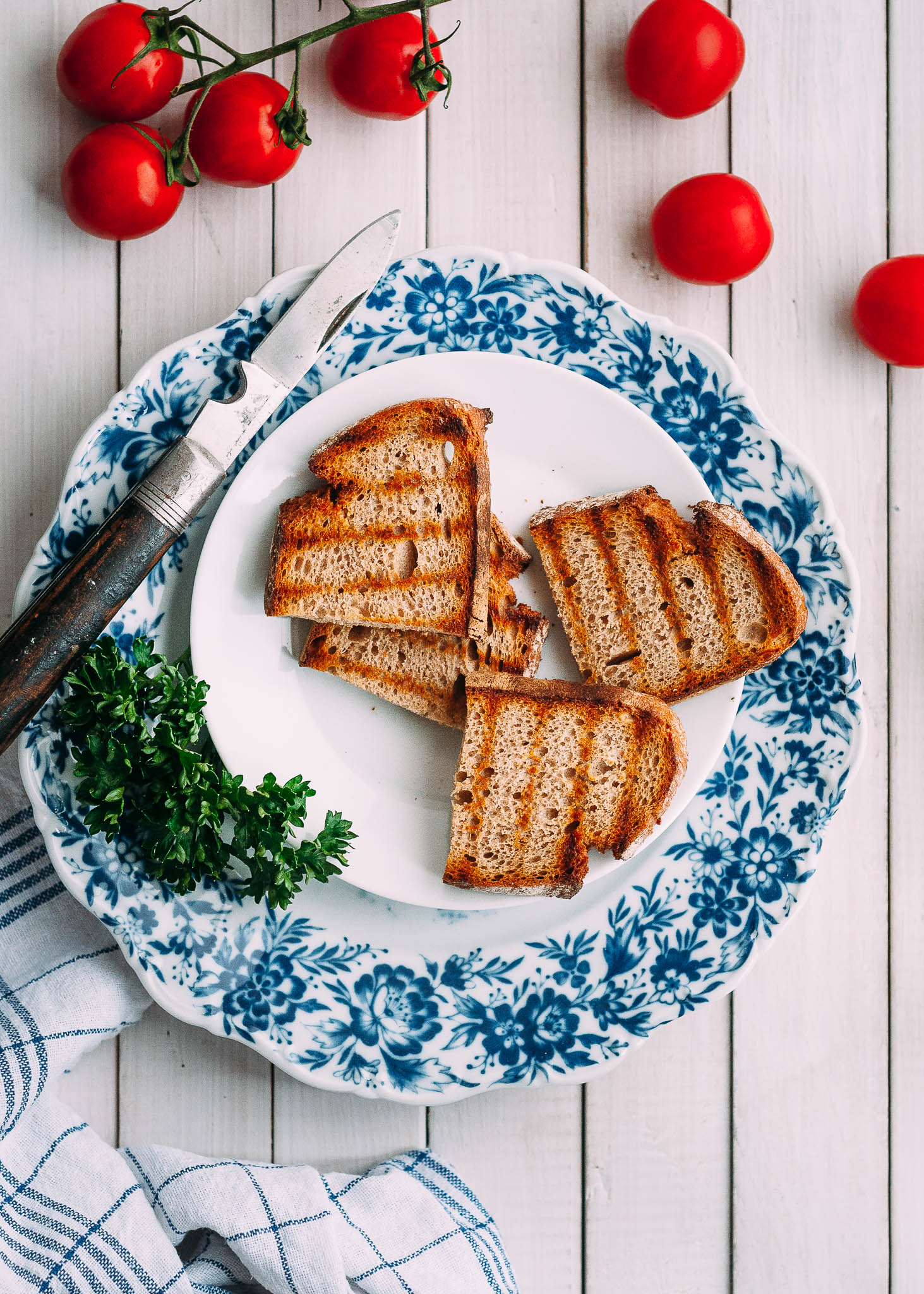 Getoastetes Brot