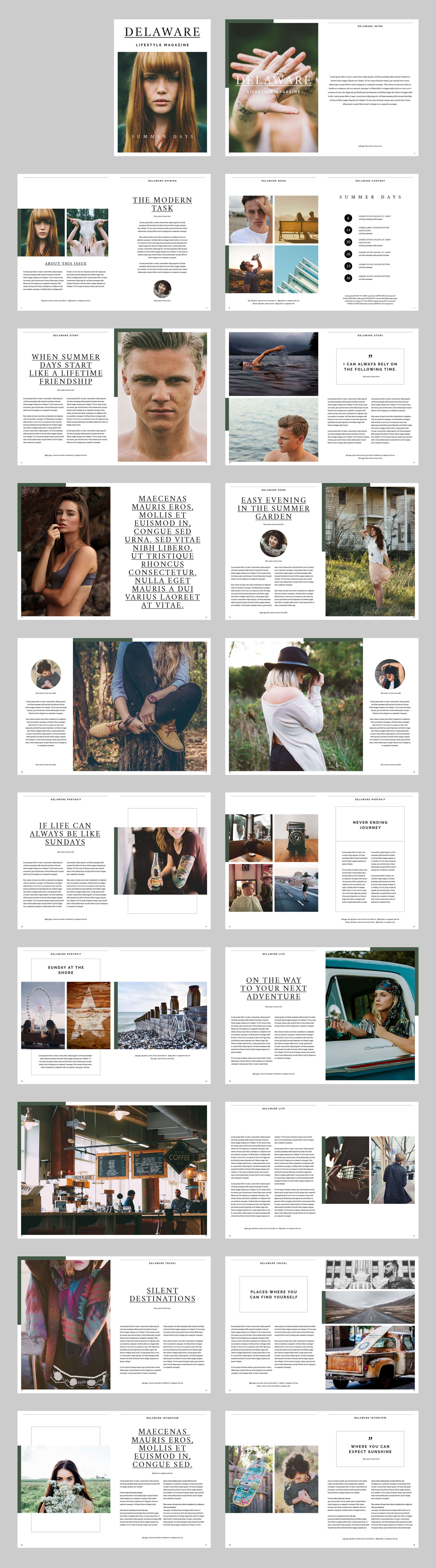 Delaware Lifestyle Magazine alle Seiten