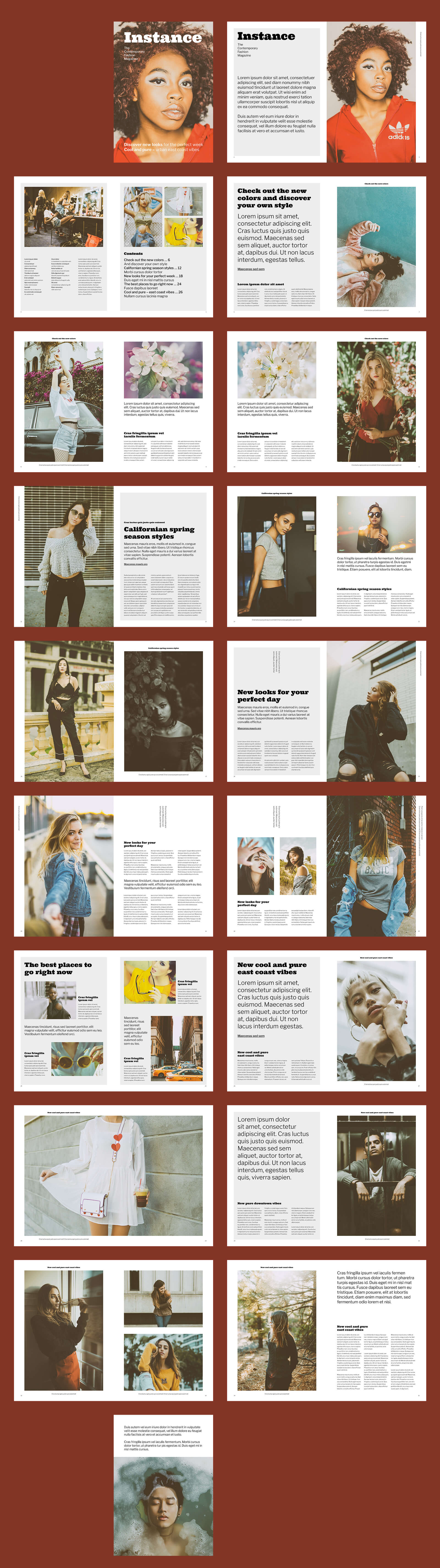 Zeitschriften Template