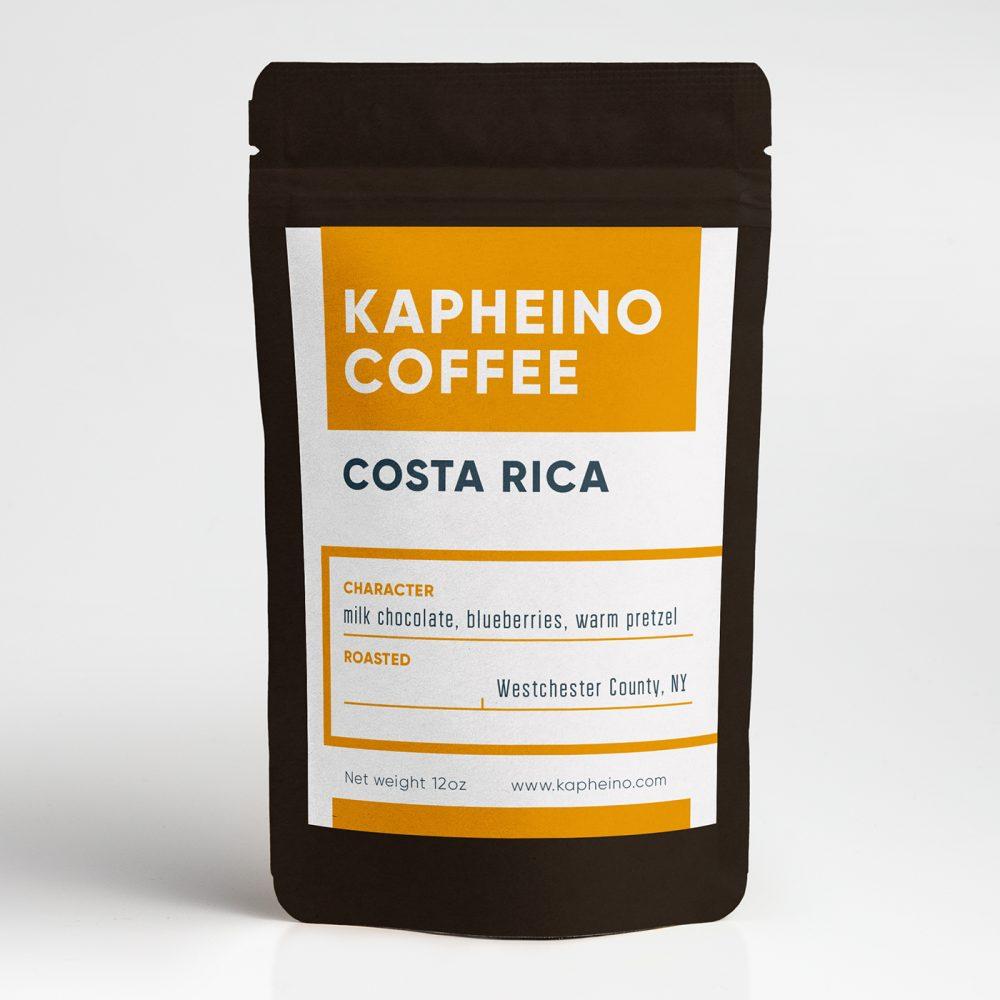 Kaffee Etikett