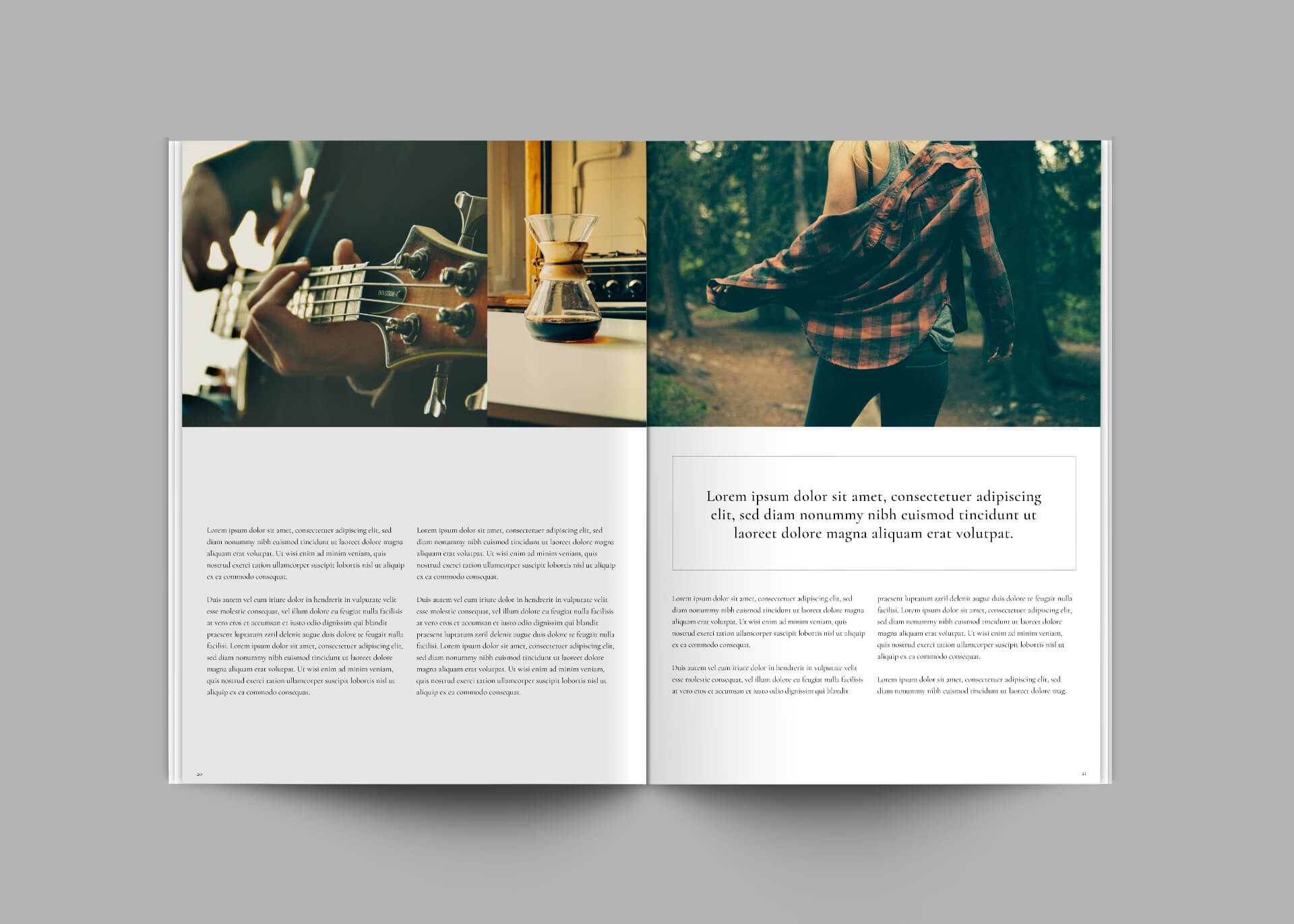 Central Magazine Template