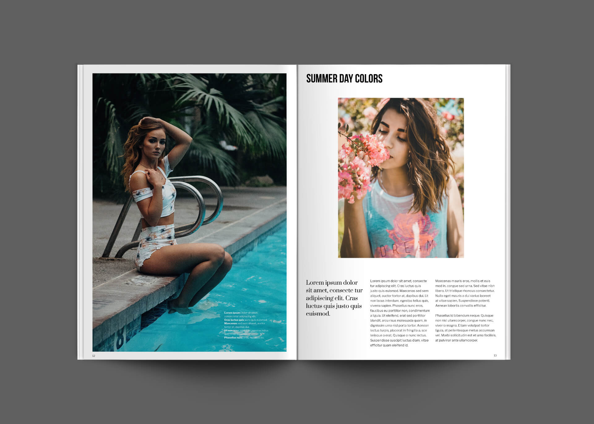 Jazzy Magazine Template