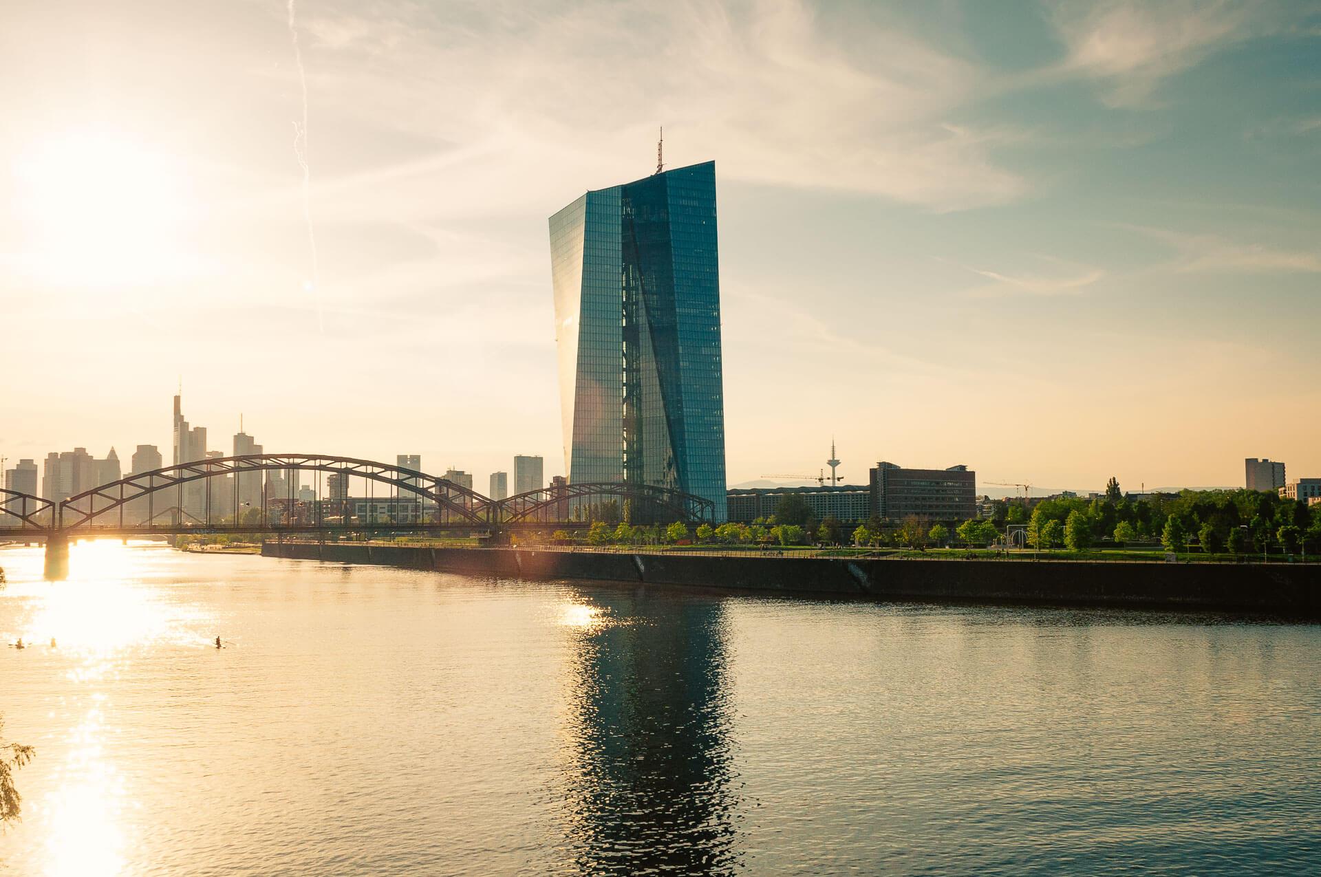 EZB Building in FFM