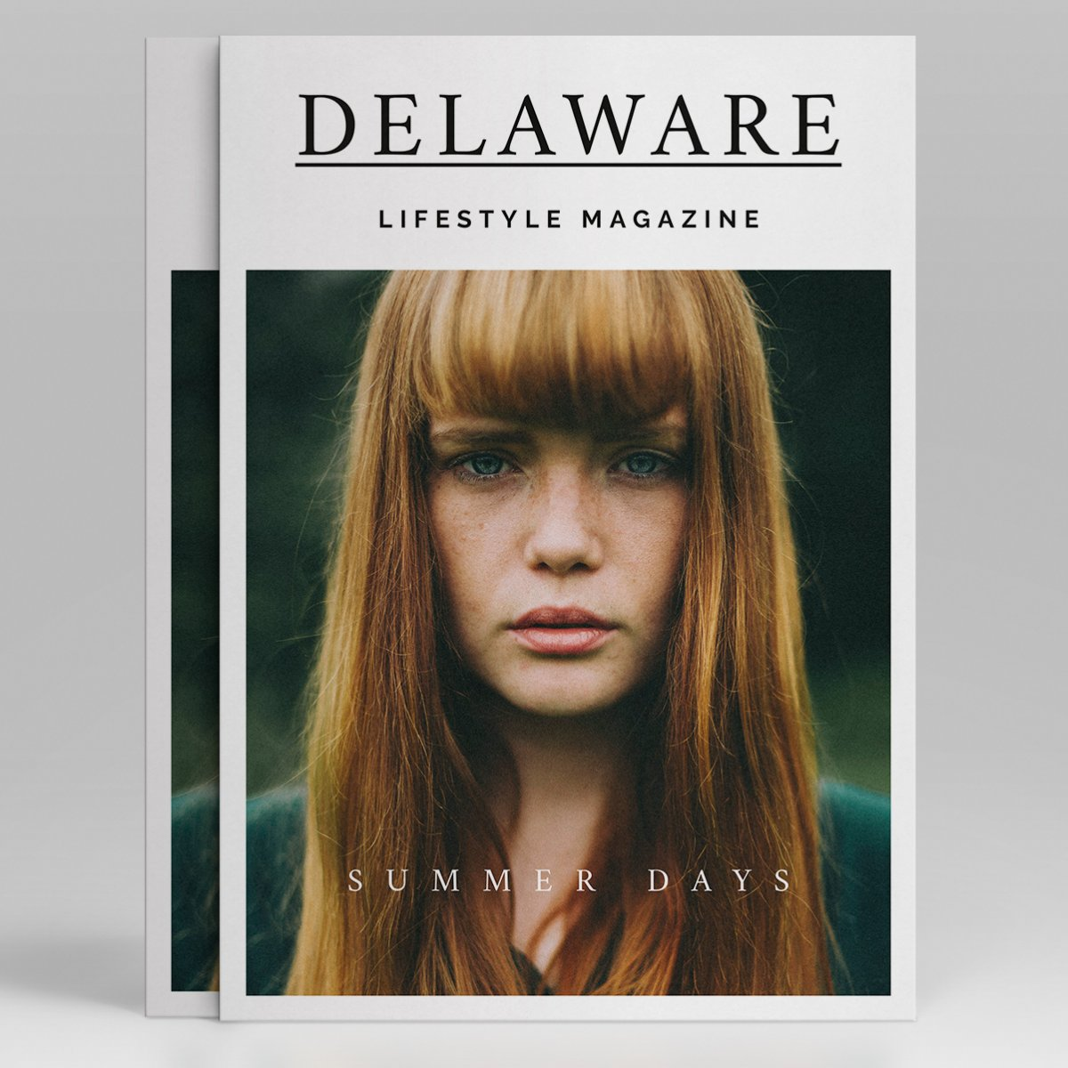 Delaware Lifestyle Magazin Cover