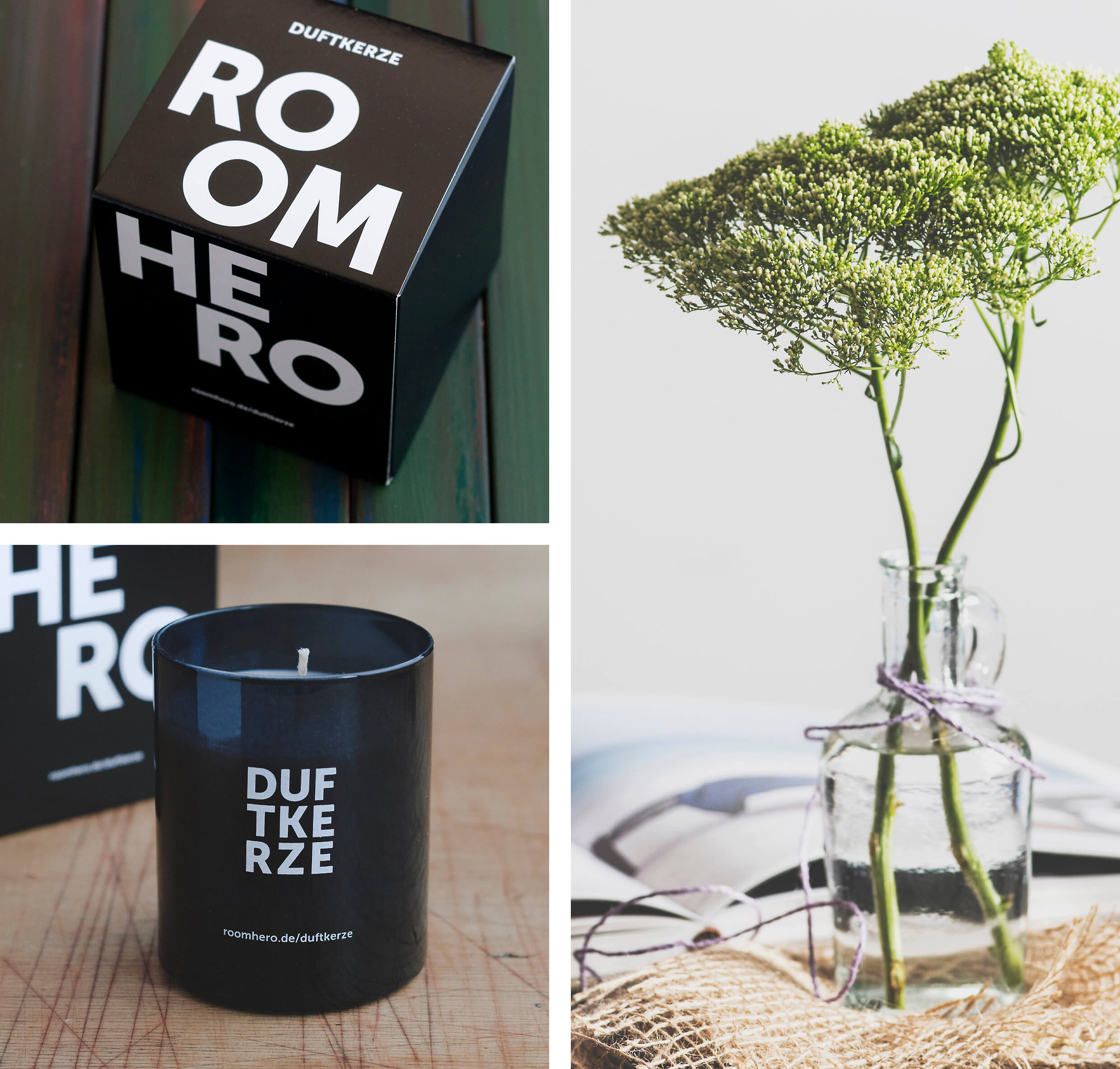 Scented Candle Roomhero