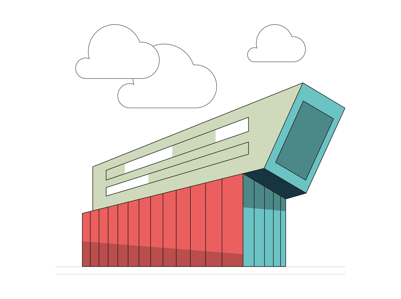 Zukunftswerkstadt Roomhero Illustration