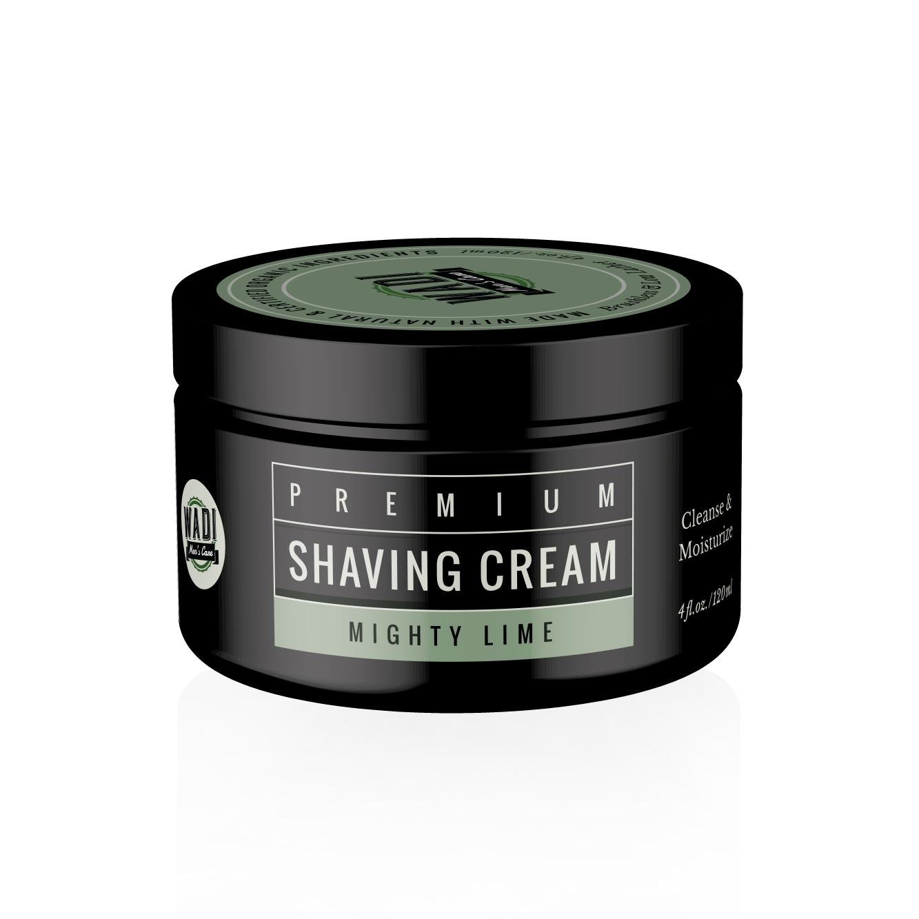 Shaving Cream Etikett